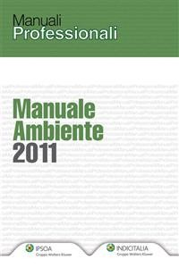 Cover Manuale Ambiente 2011