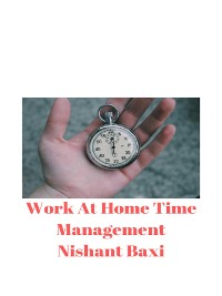 Cover Work At Home  Time Management