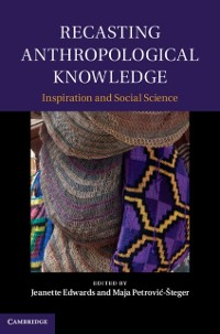 Cover Recasting Anthropological Knowledge