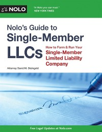 Cover Nolo's Guide to Single-Member LLCs