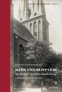 Cover Studien zur Backsteinarchitektur / Werk und Rezeption