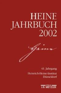 Cover Heine-Jahrbuch 2002