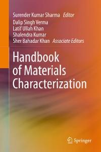 Cover Handbook of Materials Characterization