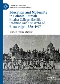 Cover Education and Modernity in Colonial Punjab