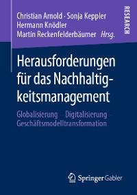 Cover Herausforderungen für das Nachhaltigkeitsmanagement