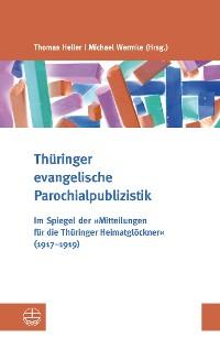 Cover Thüringer evangelische Parochialpublizistik
