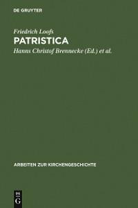 Cover Patristica