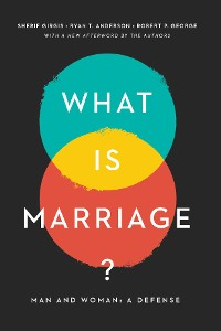 Cover What Is Marriage?