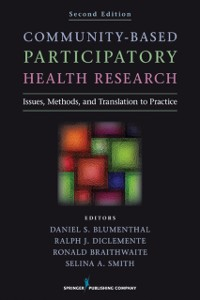 Cover Community-Based Participatory Health Research