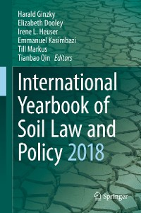 Cover International Yearbook of Soil Law and Policy 2018