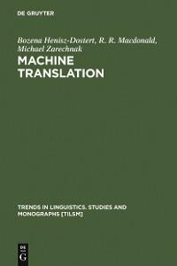 Cover Machine Translation
