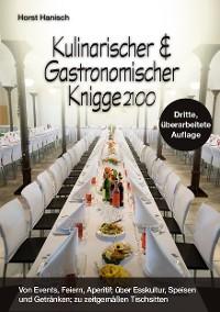 Cover Kulinarischer und Gastronomischer Knigge 2100