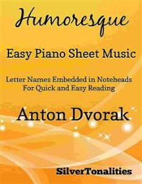 Cover Humoresque Easy Piano Sheet Music