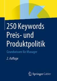 Cover 250 Keywords Preis- und Produktpolitik