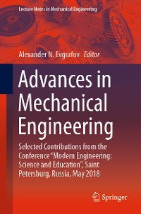 Cover Advances in Mechanical Engineering