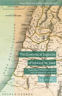 Cover The Geocritical Legacies of Edward W. Said