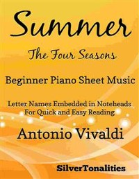 Cover Summer Four Seasons Beginner Piano Sheet Music