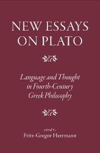 Cover New Essays on Plato