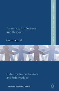 Cover Tolerance, Intolerance and Respect
