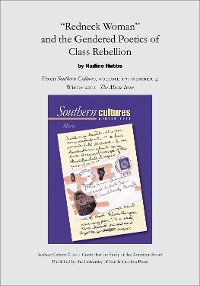 """Cover """"Redneck Woman"""" and the Gendered Poetics of Class Rebellion"""