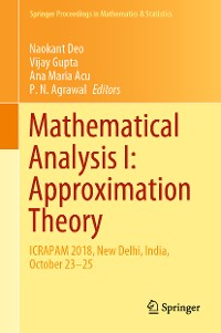 Cover Mathematical Analysis I: Approximation Theory
