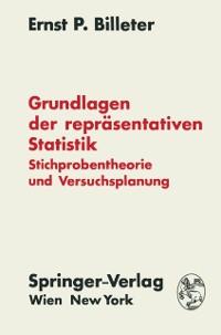 Cover Grundlagen der reprasentativen Statistik