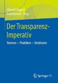 Cover Der Transparenz-Imperativ