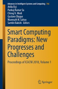 Cover Smart Computing Paradigms: New Progresses and Challenges