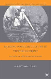 Cover Reading Popular Culture in Victorian Print