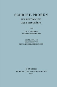 Cover Schrift-Proben