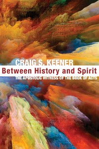 Cover Between History and Spirit