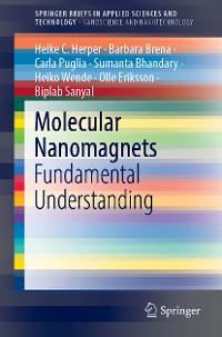 Cover Molecular Nanomagnets