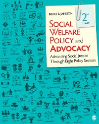 Cover Social Welfare Policy and Advocacy