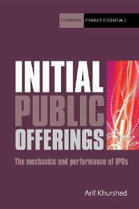 Cover Initial Public Offerings