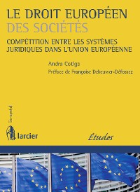 Cover Le droit européen des sociétés