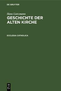 Cover Ecclesia catholica