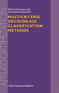 Cover Multicriteria Decision Aid Classification Methods