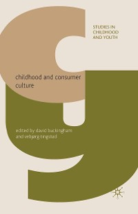 Cover Childhood and Consumer Culture