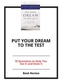 Cover Put Your Dream to the Test