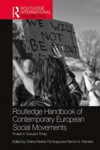 Cover Routledge Handbook of Contemporary European Social Movements