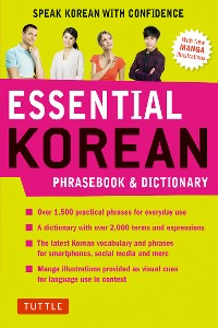 Cover Essential Korean Phrasebook & Dictionary