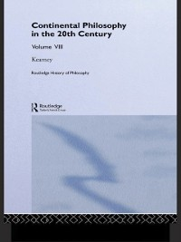 Cover Routledge History of Philosophy Volume VIII
