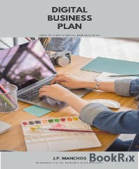 Cover Digital Business Plan: How to Start a Business Plan