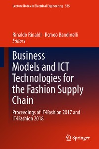 Cover Business Models and ICT Technologies for the Fashion Supply Chain