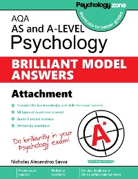 Cover AQA Psychology BRILLIANT MODEL ANSWERS: Attachments