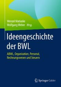 Cover Ideengeschichte der BWL