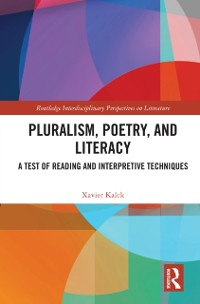Cover Pluralism, Poetry, and Literacy