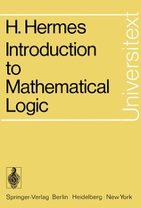 Cover Introduction to Mathematical Logic