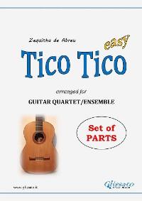 Cover Tico Tico - Guitar Quartet set of parts