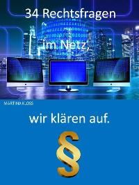 Cover Rechtsfragen im Netz - 34 Punkte aufgelistet